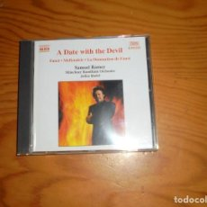 CDs de Música: A DATE WITH THE DEVIL. FAUST, MEFISTOLELE... SAMUEL RAMEY. NAXOS, 2002. CD. IMPECABLE (#). Lote 140508554