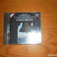 CDs de Música: SERGEY RACHMANINOV. THE BELLS / THREE RUSSIAN SONGS. DECCA, 1986. CD + LIBRETO. IMPECABLE (#). Lote 140512502
