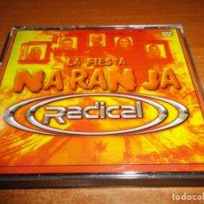 CDs de Música: RADICAL LA FIESTA NARANJA TRIPLE CD DEL AÑO 2001 DJ NAPO DJ MARTA Y DJ JUANDY 55 TEMAS 3 CD RARO. Lote 140518898