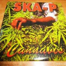 CDs de Música: SKA-P CANNABIS CD SINGLE PORTADA DE CARTON DEL AÑO 1997 CONTIENE 2 TEMAS. Lote 140525450