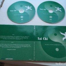 CDs de Música: TAI CHI MUSIC FOR HARMONY & BALANCE CD MUSICA 2 CDS. Lote 140528378