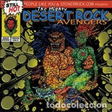 CDs de Música: VARIOUS - THE MIGHTY DESERT ROCK AVENGERS. Lote 140528690