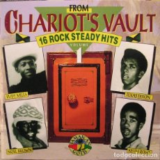 CDs de Música: VARIOUS - FROM CHARIOT'S VAULT - VOL. 1 - 16 ROCK STEADY HITS. Lote 140529758