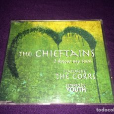 CDs de Música: CD SINGLE THE CHIEFTAINS 'I KNOW MY LOVE FEAT. THE CORRS' BMG (1999). Lote 140532262