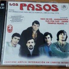 CDs de Música: LOS PASOS TODAS SUS GRABACIONES PARA HISPAVOX Y ARIOLA 2XCDS RAMA LAMA. Lote 140535390