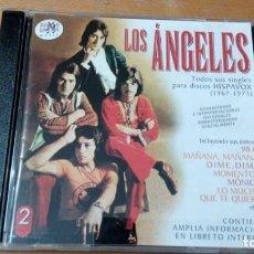 CDs de Música: LOS ANGELES TODOS SUS SINGLES PARA HISPAVOX (1967-1973) 2XCDS RAMA LAMA. Lote 140535670