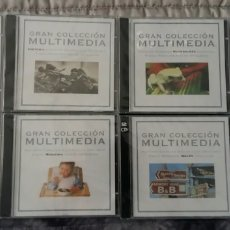 CDs de Música: CDS COLECCIÓN COMPLETA MULTIMEDIA. Lote 140547396