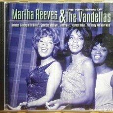 CDs de Música: CD: THE VERY BEST OF MARTHA REEVES & THE VANDELLAS - IMPORTADO DE INGLATERRA.. Lote 140548586