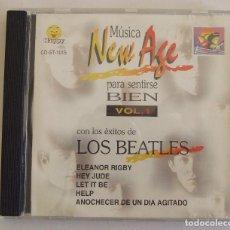 CDs de Música: CD VERSIONES BEATLES NEW AGE MUSICA PARA SENTIRSE BIEN. Lote 140586498
