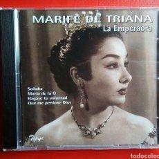 CDs de Música: CD MÚSICA MARIFE DE TRIANA LA EMPERADORA NUEVO SIN ABRIR. Lote 140599230