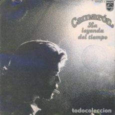CDs de Música: CAMARON - LA LEYENDA DEL TIEMPO - 1997 PHILIPS RECORDS REISSUE. Lote 140605074