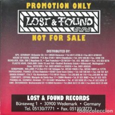 CDs de Música: VARIOUS - LOST & FOUND RECORDS PROMO COMPILATION. Lote 140606470