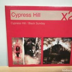 CDs de Música: CYPRESS HILL X2 - MUY RARO - DOBLE CD. Lote 140618374