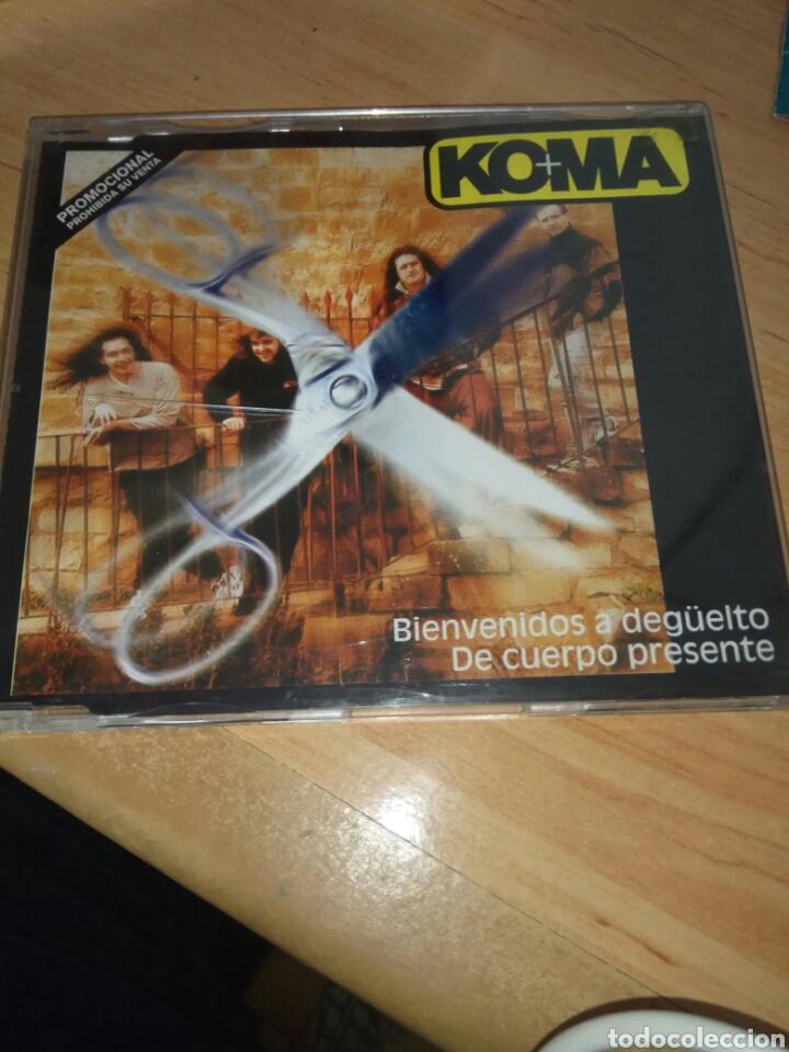 CD MAXI SINGLE / KOMA / 2 TEMAS (Música - CD's Rock)