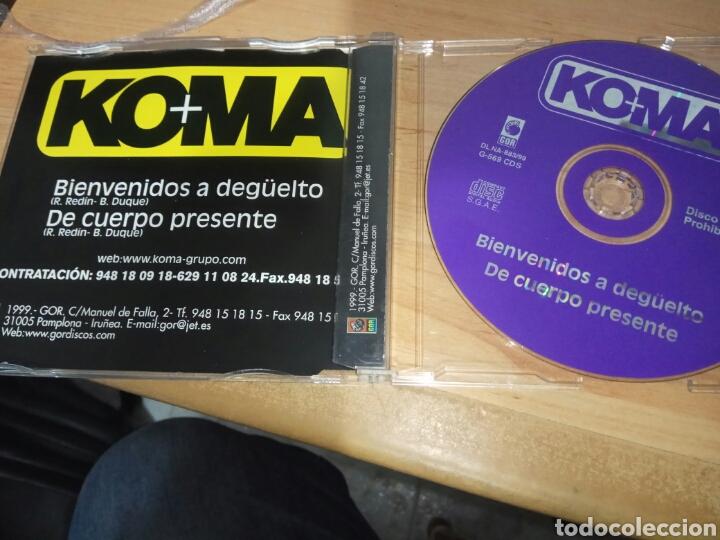 CDs de Música: CD MAXI SINGLE / KOMA / 2 TEMAS - Foto 2 - 140648461
