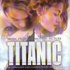 CDs de Música: B.S.O. DE TITANIC - DE JAMES HORNER - CD ALBUM - 15 TRACKS - SONY MUSIC 1997. Lote 140712858