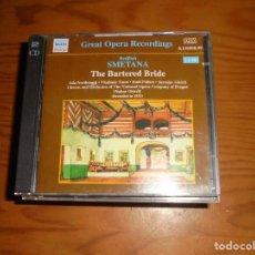 CDs de Música: BEDRICH SMETANA. THE BARTERED BRIDE. NAXOS, 2001. 2 CD´ S. IMPECABLE. Lote 140716482