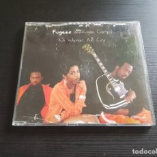 CDs de Música: FUGEES - REFUGEE CAMP - NO WOMAN , NO CRY - CD SINGLE - 4 TRACKS - SONY - 1996. Lote 140716770