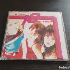 CDs de Música: A LAS DIEZ EN CASA - ENAMORADA DEL NOVIO DE MI AMIGA - CD SINGLE - BLANCO Y NEGRO - 1997. Lote 140717838