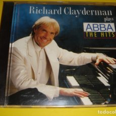 CDs de Música: RICHARD CLAYDERMAN / PLAYS ABBA THE HITS / WARNER MUSIC / CD. Lote 140228390
