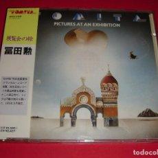 CDs de Música: ISAO TOMITA / PICTURES AT AN EXHIBITION / CUADROS DE UNA EXPOSICIÓN / IMPORTADO DE JAPÓN / CD. Lote 140733954
