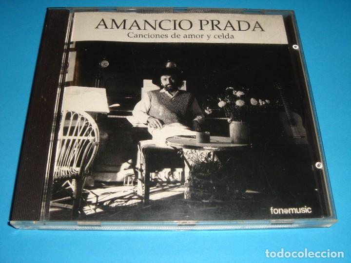 AMANCIO PRADA / CANCIONES DE AMOR Y CELDA / FONOMUSIC / CD (Música - CD's Melódica )