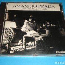 CDs de Música: AMANCIO PRADA / CANCIONES DE AMOR Y CELDA / FONOMUSIC / CD. Lote 140739250