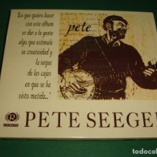 CDs de Música: PETE SEEGER / PETE / RESISTENCIA RECORDS / CD. Lote 140740142