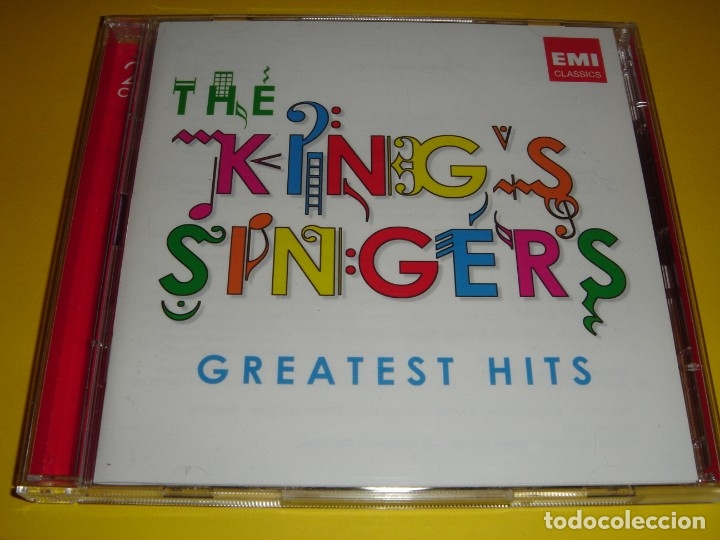 CDs de Música: THE KING´S SINGERS / GREATEST HITS / GRANDES ÉXITOS / LO MEJOR DE / 2 CD - Foto 1 - 48442119