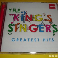 CDs de Música: THE KING´S SINGERS / GREATEST HITS / GRANDES ÉXITOS / LO MEJOR DE / 2 CD. Lote 48442119