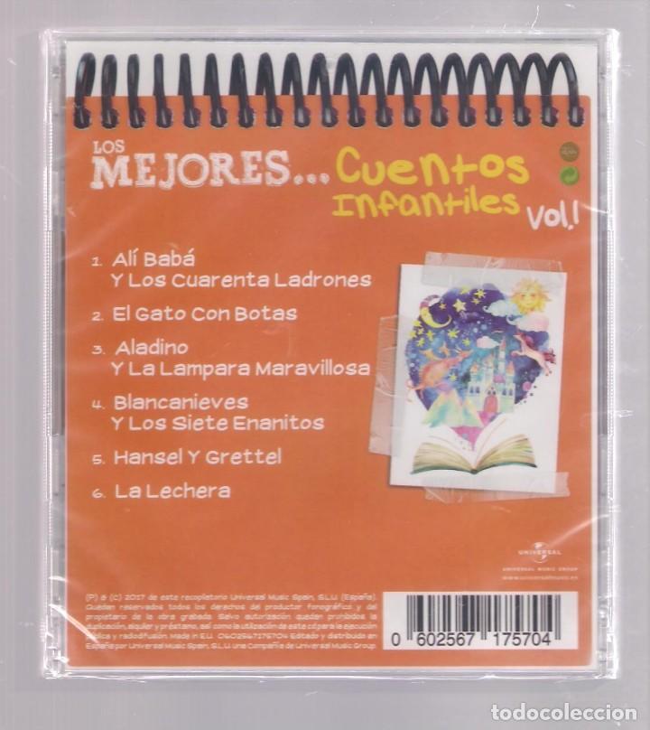 CDs de Música: LOS MEJORES CUENTOS INFANTILES VOL.1 (CD infantil + lápìz de color + 8 págs. pasatiempos) PRECINTADO - Foto 2 - 140743158