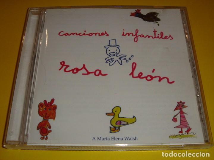 ROSA LEÓN / CANCIONES INFANTILES / CANCIONES PARA NIÑOS / FONOMUSIC / CD (Música - CD's Otros Estilos)
