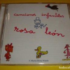 CDs de Música: ROSA LEÓN / CANCIONES INFANTILES / CANCIONES PARA NIÑOS / FONOMUSIC / CD. Lote 140743546