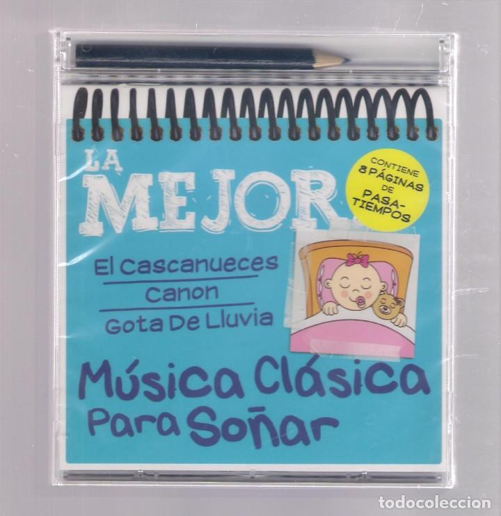 LA MEJOR MÚSICA CLÁSICA PARA SOÑAR (CD INFANTIL + LÁPÌZ DE COLOR + 8 PÁGS. PASATIEMPOS) PRECINTADO (Música - CD's Otros Estilos)