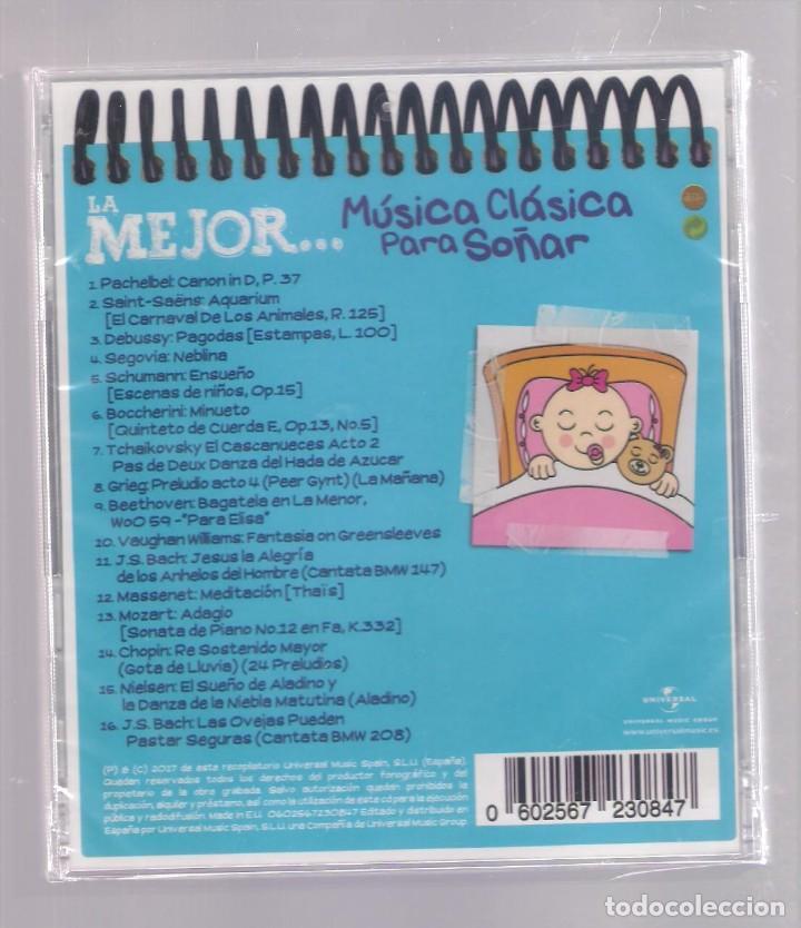 CDs de Música: LA MEJOR MÚSICA CLÁSICA PARA SOÑAR (CD infantil + lápìz de color + 8 págs. pasatiempos) PRECINTADO - Foto 2 - 140743602