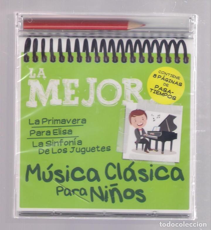 LA MEJOR MÚSICA CLÁSICA PARA NIÑOS (CD INFANTIL + LÁPÌZ DE COLOR + 8 PÁGS. PASATIEMPOS) PRECINTADO (Música - CD's Otros Estilos)