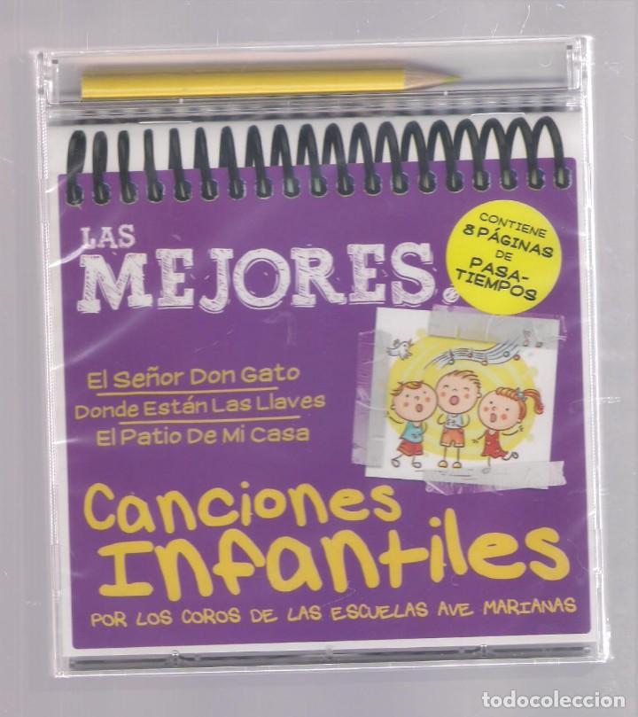 LAS MEJORES CANCIONES INFANTILES (CD INFANTIL + LÁPÌZ DE COLOR + 8 PÁGS. PASATIEMPOS) PRECINTADO (Música - CD's Otros Estilos)
