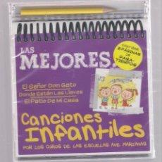 CDs de Música: LAS MEJORES CANCIONES INFANTILES (CD INFANTIL + LÁPÌZ DE COLOR + 8 PÁGS. PASATIEMPOS) PRECINTADO. Lote 140744342