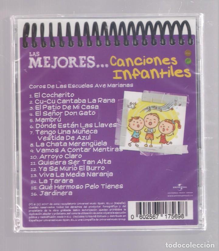 CDs de Música: LAS MEJORES CANCIONES INFANTILES (CD infantil + lápìz de color + 8 págs. pasatiempos) PRECINTADO - Foto 2 - 140744342