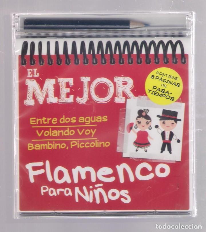 EL MEJOR FLAMENCO PARA NIÑOS (CD INFANTIL + LÁPÌZ DE COLOR + 8 PÁGS. PASATIEMPOS) PRECINTADO (Música - CD's Otros Estilos)