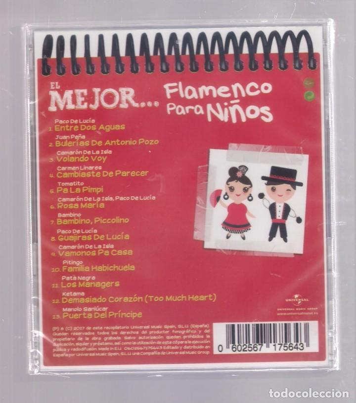 CDs de Música: EL MEJOR FLAMENCO PARA NIÑOS (CD infantil + lápìz de color + 8 págs. pasatiempos) PRECINTADO - Foto 2 - 140744690