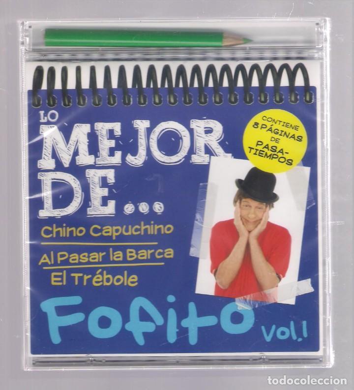 LO MEJOR DE FOFITO VOL.1 (CD INFANTIL + LÁPÌZ DE COLOR + 8 PÁGS. PASATIEMPOS) PRECINTADO (Música - CD's Otros Estilos)
