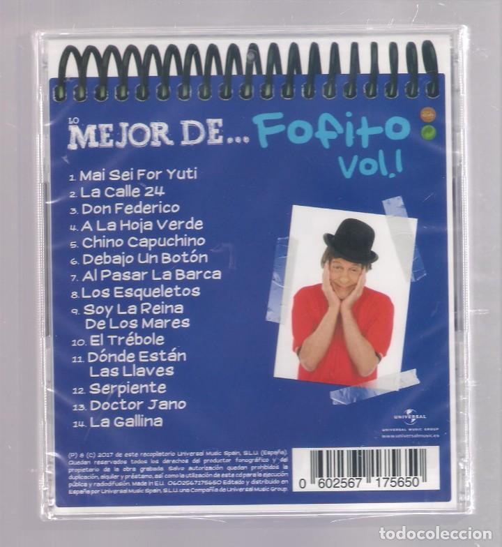 CDs de Música: LO MEJOR DE FOFITO VOL.1 (CD infantil + lápìz de color + 8 págs. pasatiempos) PRECINTADO - Foto 2 - 140745010