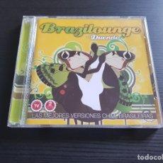 CDs de Música: BRAZIL LOUNGE CON DUENDE - DOBLE CD ALBUM - DIVUCSA - 2008. Lote 140758474