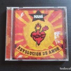 CDs de Música: MANÁ - REVOLUCIÓN DE AMOR - CD ALBUM - WARNER - 2002. Lote 140759074