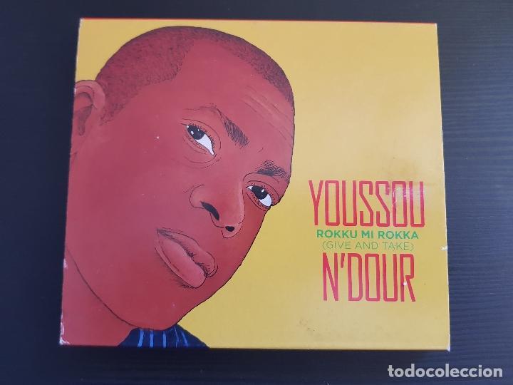 YOUSSOU N´DOUR - ROKKU MI ROKKA - GIVE AND TAKE - DOBLE CD ALBUM - WARNER - 2007 (Música - CD's World Music)