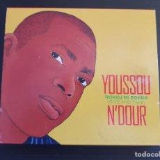 CDs de Música: YOUSSOU N´DOUR - ROKKU MI ROKKA - GIVE AND TAKE - DOBLE CD ALBUM - WARNER - 2007. Lote 140764062