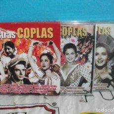 CDs de Música: NUESTRAS COPLAS TRIPLE CD VARIOS PRECINTADOS LOLA FLORES , CONCHA PIQUER , MANOLO CARACOL , ETC . Lote 140766606