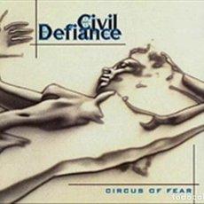 CDs de Música: CIRCUS OF FEAR (CIVIL DEFIANCE). Lote 140772594