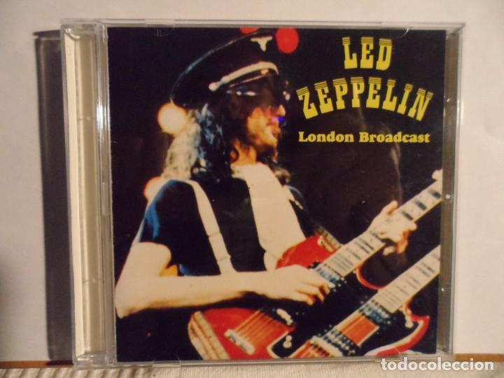 LED ZEPPELIN - LONDON BROADCAST LIVE LONDON 1969 (Música - CD's Rock)
